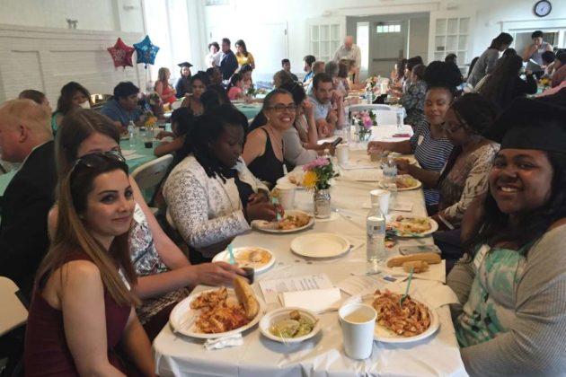 Fifteen high school seniors came through the program
