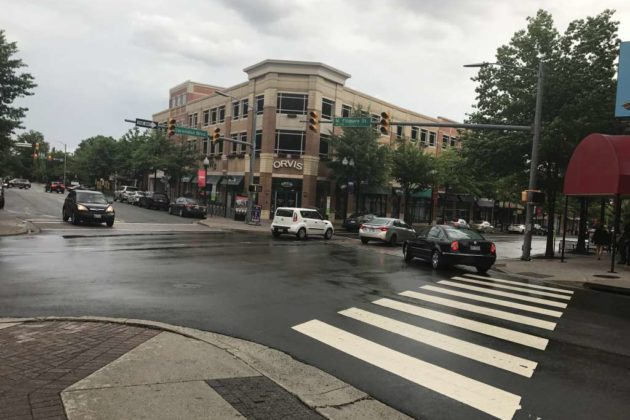 Clarendon power outage on 6/19/17 (photo by Brooke Giles)
