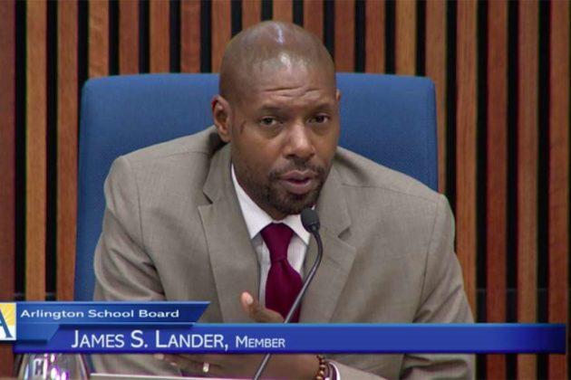 School Board member James Lander (file photo)