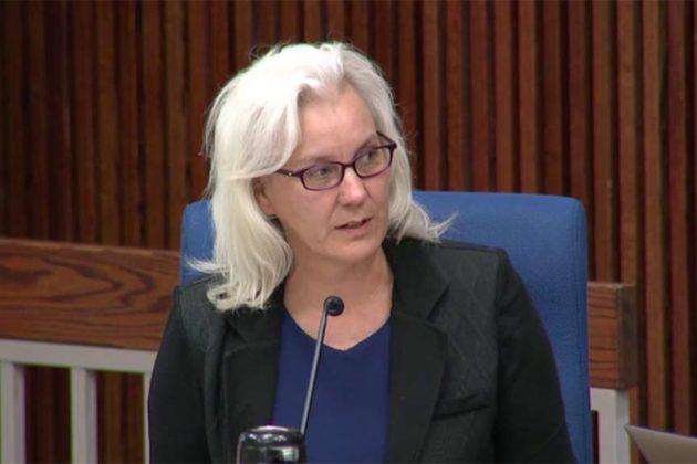 School Board chair Barbara Kanninen (file photo)