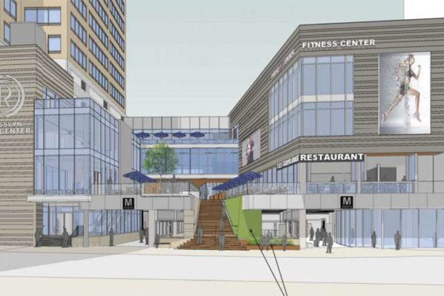 Staff also said it does not conform to the Rosslyn Sector Plan