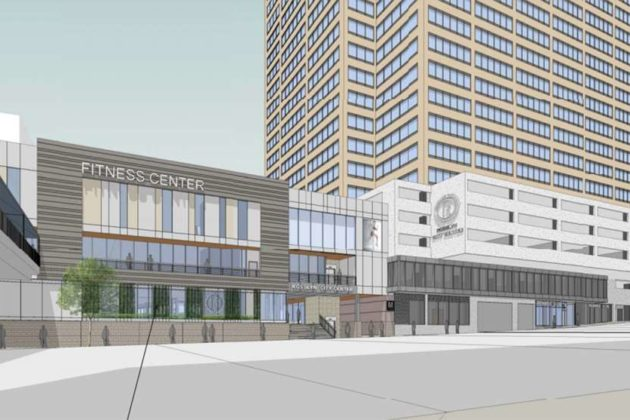 The plan would add more than 17,000 square feet of new retail space