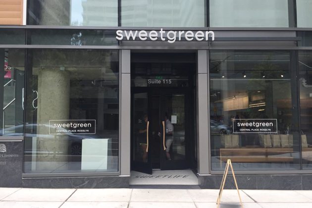 Sweetgreen will open in Central Place on Tuesday, July 11