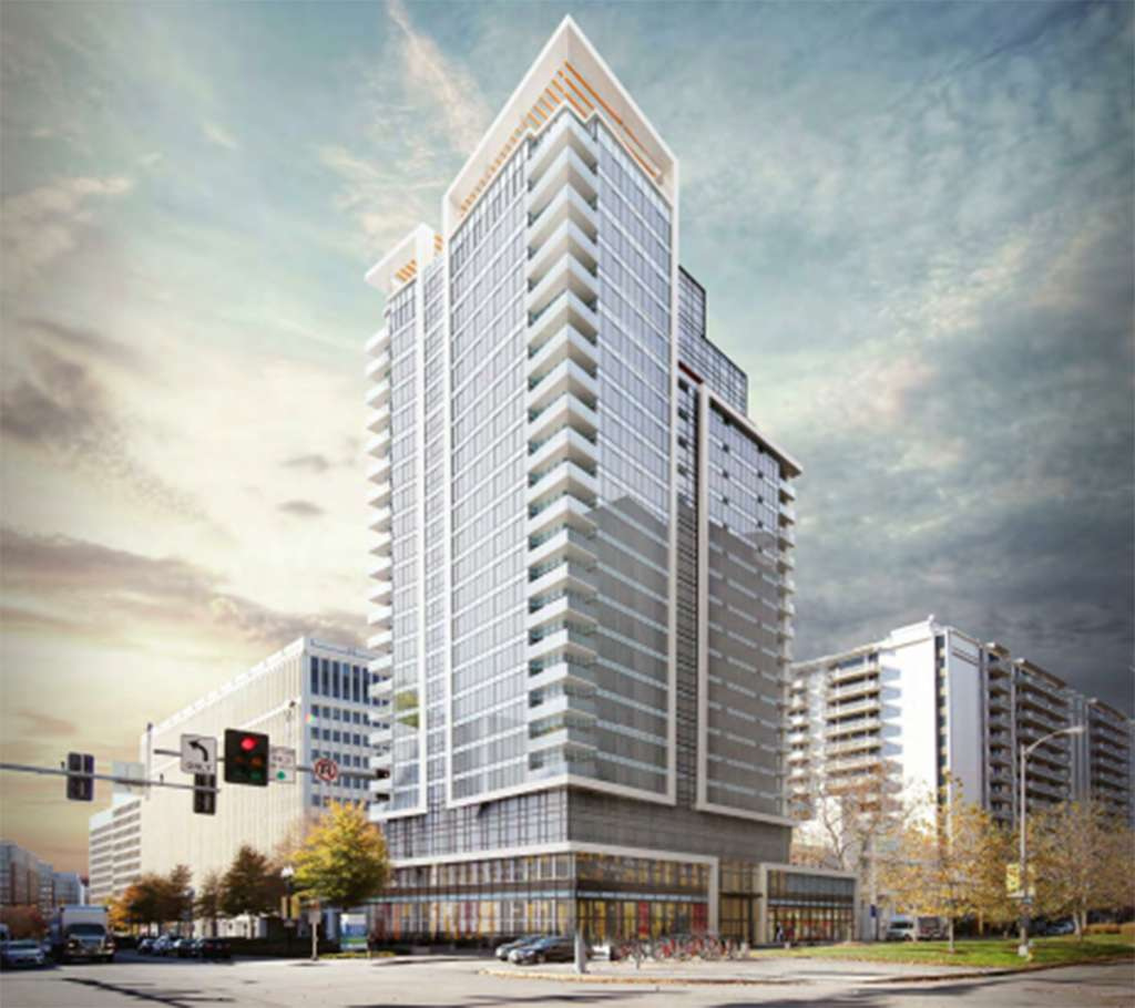New 22-Story Apartment Building Planned For Crystal City