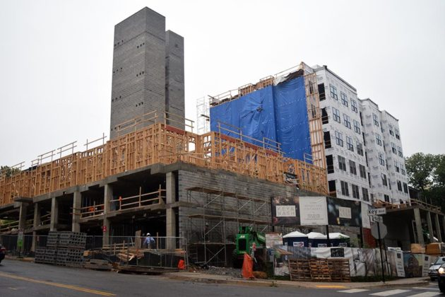 The project will add a six-story building and 63 units in Rosslyn