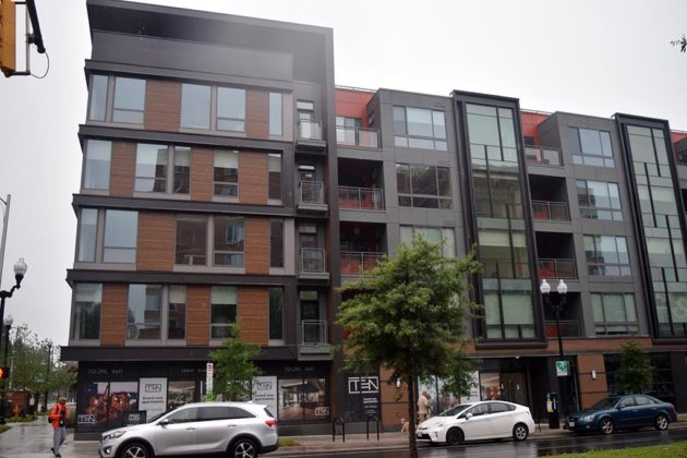 The Ten at Clarendon appears to be built out