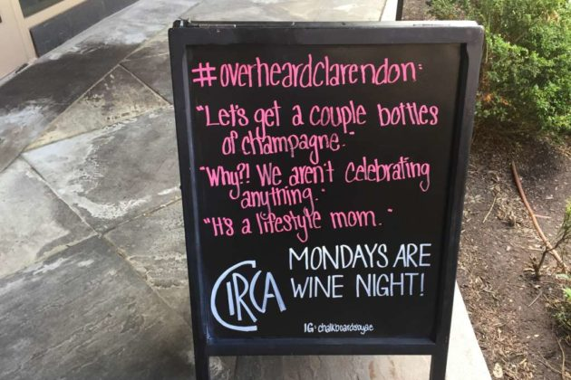 """One of the """"Clarendon particularities"""" on this week's board."""