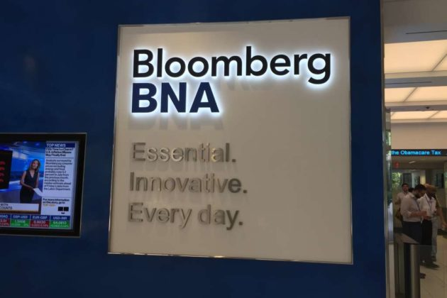 The Bloomberg BNA motto.