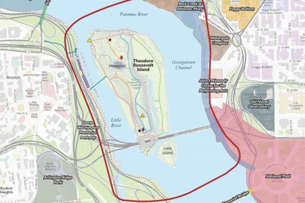 Roosevelt Island could be in for various improvements (photo via NPS presentation)
