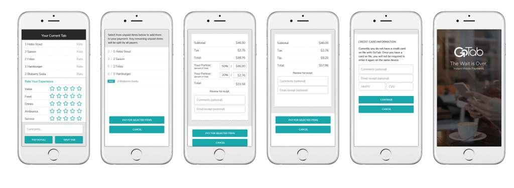 Web App Allows Customers to Pay Restaurant Bills Online