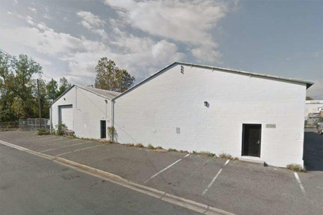 The warehouses at 2704-2706 S. Oakland Street (photo via Google Maps)