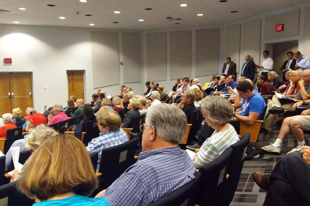 More than 100 people attended the forum at Virginia Hospital Center