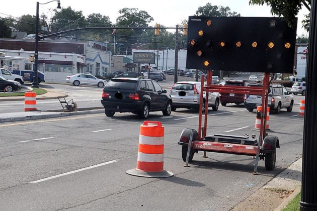 Those in the area can expect lane closures during work hours