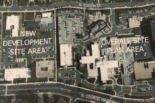 VHC would acquire a site to its north under a land-swap with the county (image via county plans)