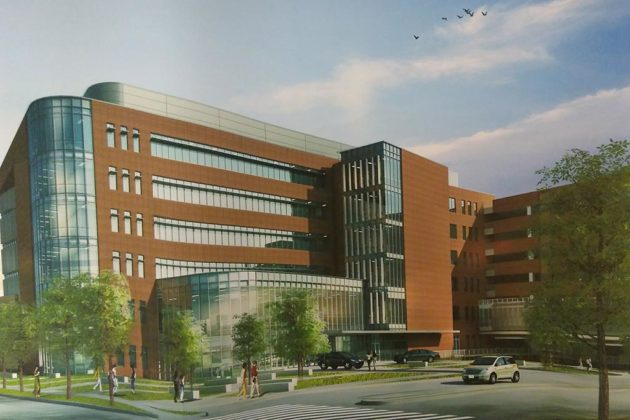 VHC would also convert existing outpatient space into hospital beds (image via county plans)