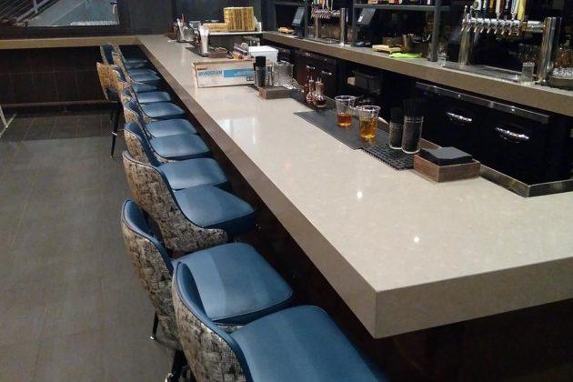 The main bar area