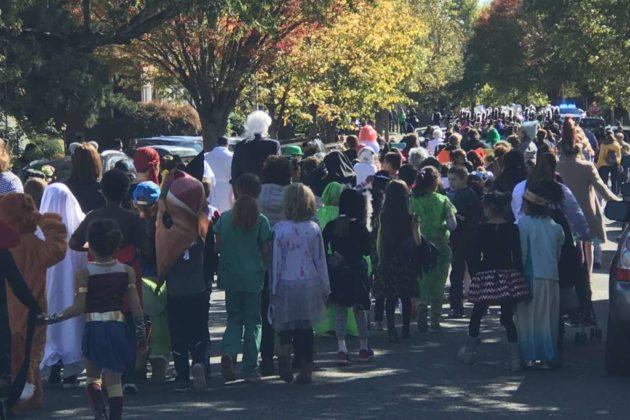 2017 Fairlington Halloween parade