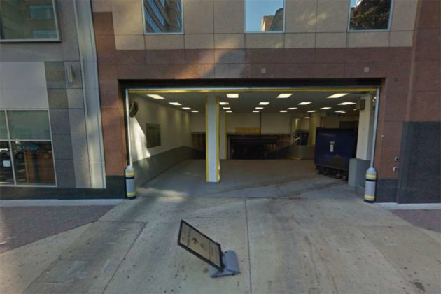 MakeOffices parking garage entrance via Google Maps