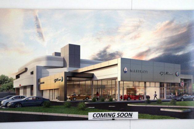 south arlington maserati and fiat dealership expanding | arlnow