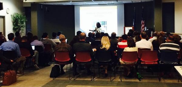TaraStartingaBiz1.0:  Tara Palacios addresses new entrepreneurs and provides advice and instruction to start right