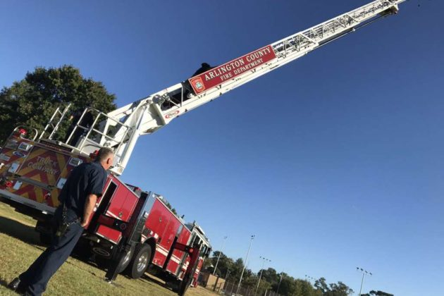 Photo courtesy Arlington County Fire Department
