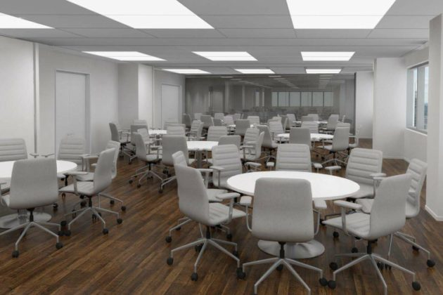 Conceptual renderings of UVA's Darden School facilities at 1100 Wilson Blvd. (Courtesy UVA)