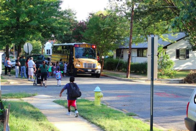"""We have two Arlington County bus stops in this eight-block area."""