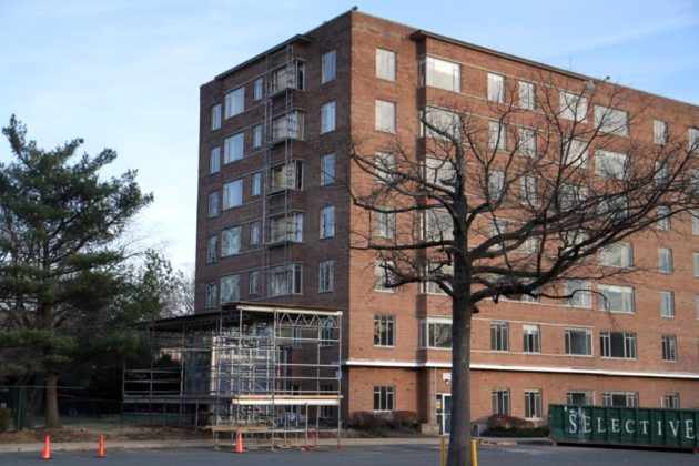 Renovations Underway at Dominion Arms Apartment Building | ARLnow com