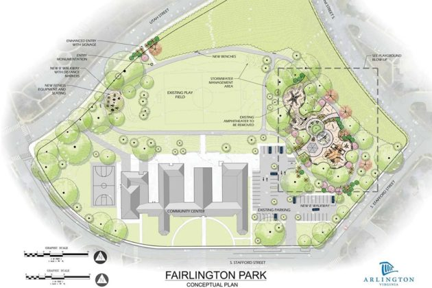 Fairlington Park concept plan