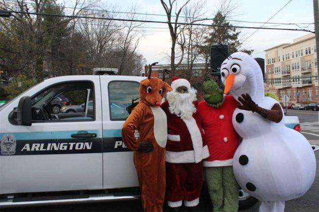 Operation Santa characters (photo courtesy ACPD)