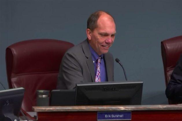 County Board member Erik Gutshall