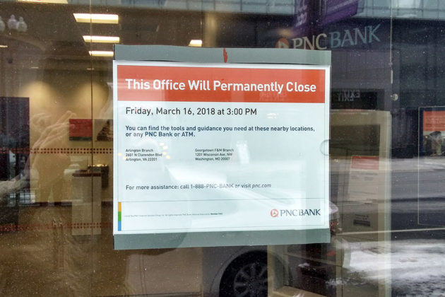 Rosslyn PNC Bank Branch to Close in March   ARLnow com