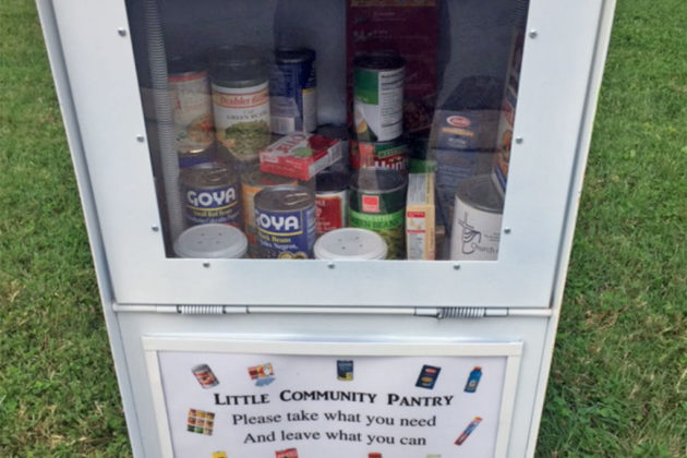 Community pantry in Ballston