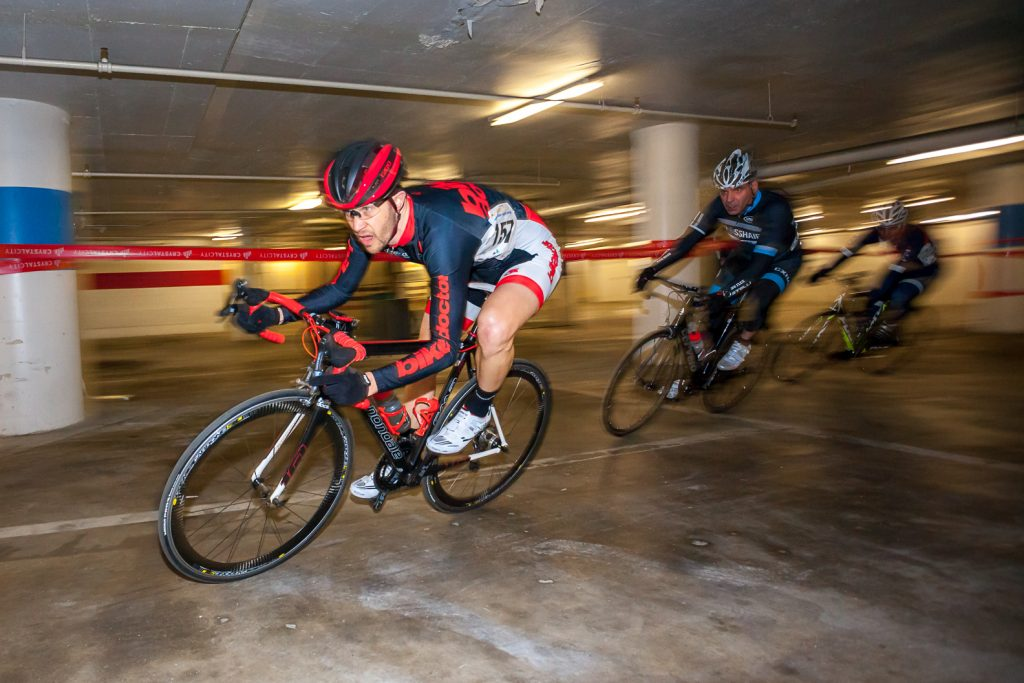 Bicycle Races Through a Crystal City Parking Garage Returns in March