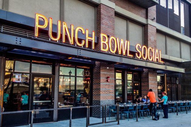 Punch Bowl Social (photo courtesy Ballston Quarter)