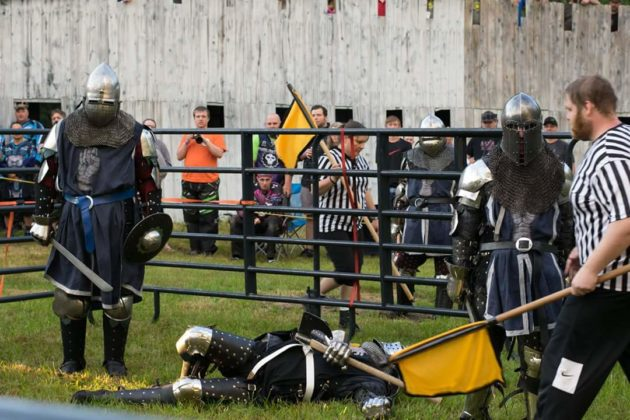 Steel fighters competing (courtesy of Sam Jensen)