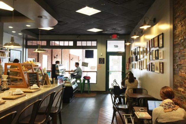 Sense of Place cafe interior