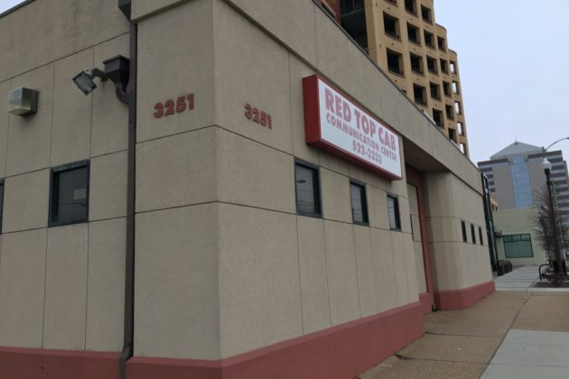 The Red Top Cab headquarters in Clarendon is still in operation