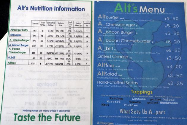 Alt's menu