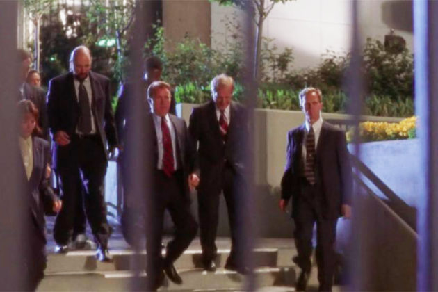 The assassination attempt scene of The West Wing was shot in Freedom Park (via Warner Bros. Television)