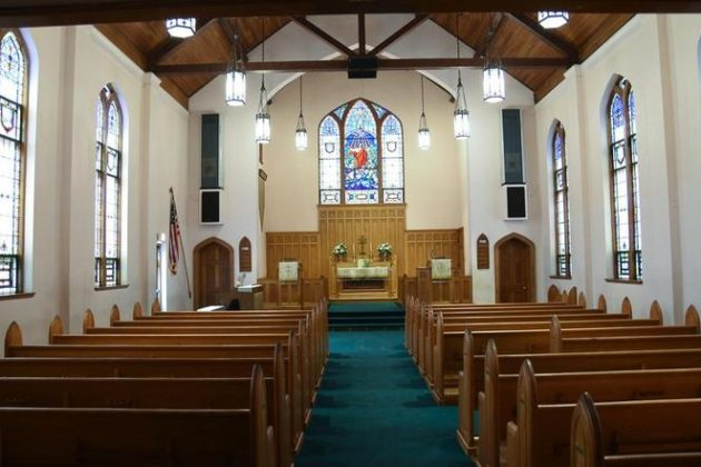 Bethel United Church of Christ for sale (photo via Redfin/MRIS)
