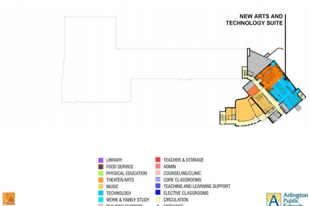 Stratford renovation's basement plan