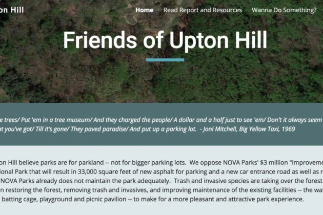 Friends of Upton Hill website