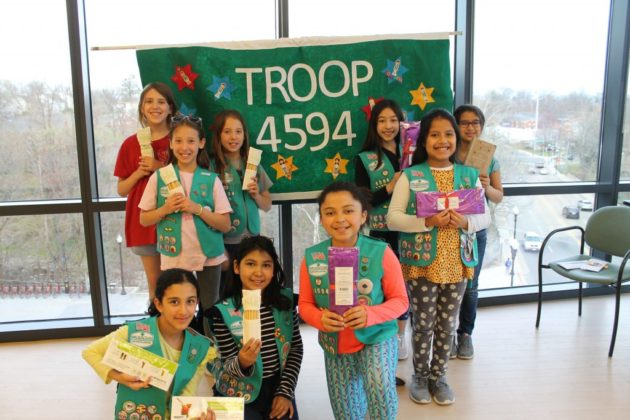 The Girl Scouts of Arlington Troop 4594