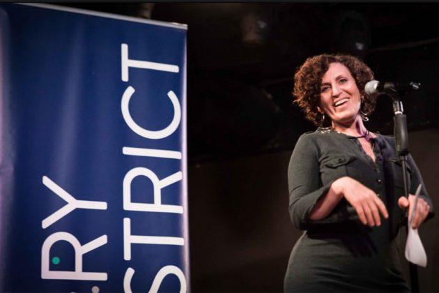 Story District storyteller Amy Saidman