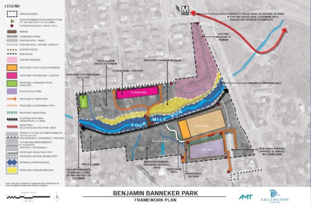 Benjamin Banneker Park framework plan