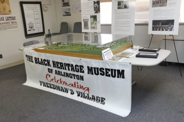 A Black Heritage Museum exhibit