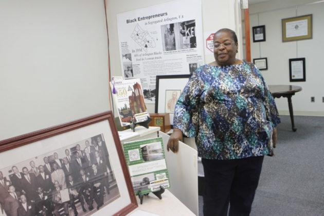 Portia Clark at Arlington'sBlack Heritage Museum