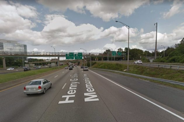 I-395's Shirlington interchange (photo via Google Maps)
