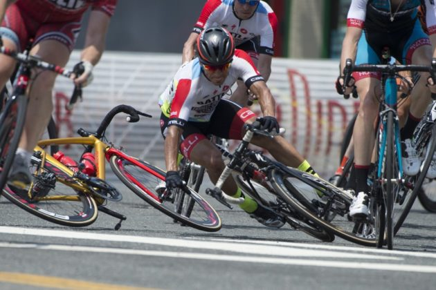 Bicyclists compete in the Armed Forces Cycling Classic (courtesy photo)